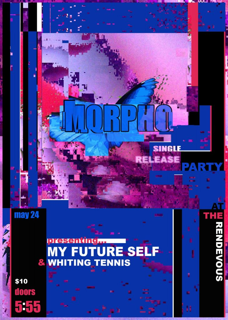 My Future Self Album Release Concert in Seattle this Memorial Day Weekend Poster